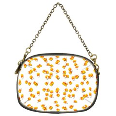 Candy Corn Chain Purses (two Sides)  by Valentinaart
