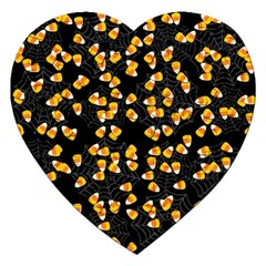 Candy Corn Jigsaw Puzzle (heart)