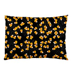 Candy Corn Pillow Case by Valentinaart