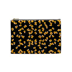 Candy Corn Cosmetic Bag (medium)  by Valentinaart