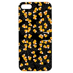 Candy Corn Apple Iphone 5 Hardshell Case With Stand by Valentinaart