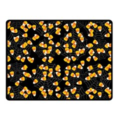 Candy Corn Double Sided Fleece Blanket (small)