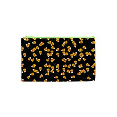 Candy Corn Cosmetic Bag (xs) by Valentinaart