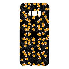 Candy Corn Samsung Galaxy S8 Plus Hardshell Case  by Valentinaart