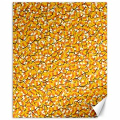 Candy Corn Canvas 16  X 20   by Valentinaart