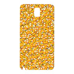 Candy Corn Samsung Galaxy Note 3 N9005 Hardshell Back Case by Valentinaart