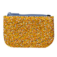 Candy Corn Large Coin Purse by Valentinaart