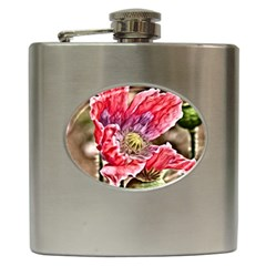 Dreamy Floral 5 Hip Flask (6 Oz) by MoreColorsinLife