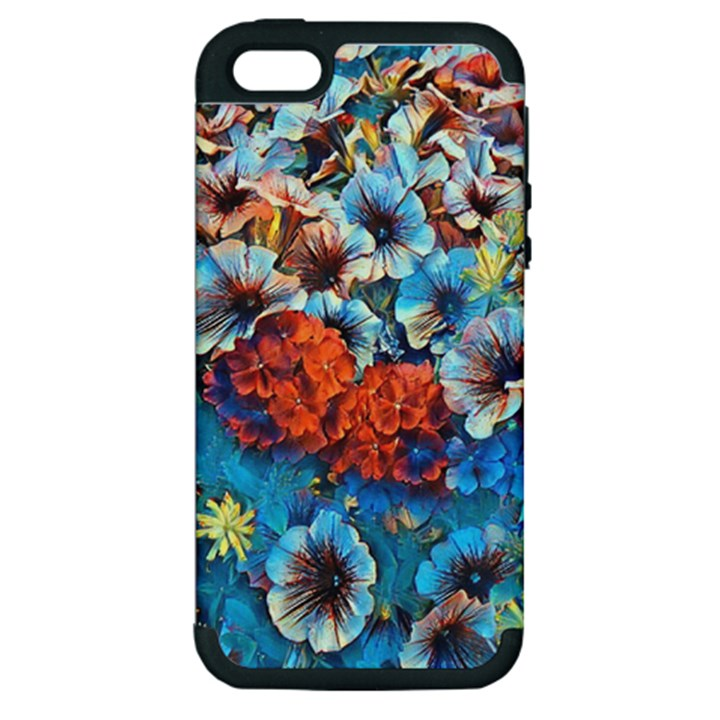 Dreamy Floral 3 Apple iPhone 5 Hardshell Case (PC+Silicone)