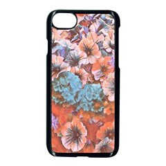Dreamy Floral 4 Apple Iphone 7 Seamless Case (black) by MoreColorsinLife