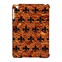Royal1 Black Marble & Copper Foil Apple Ipad Mini Hardshell Case (compatible With Smart Cover) by trendistuff