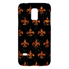 Royal1 Black Marble & Copper Foil (r) Galaxy S5 Mini by trendistuff
