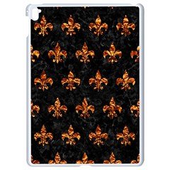 Royal1 Black Marble & Copper Foil (r) Apple Ipad Pro 9 7   White Seamless Case by trendistuff