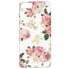 Pink And White Flowers  Apple Iphone 5 Classic Hardshell Case by MaryIllustrations