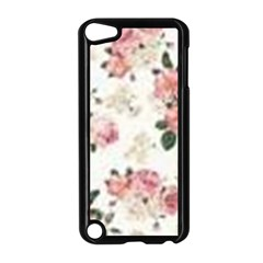 Pink And White Flowers  Apple Ipod Touch 5 Case (black) by MaryIllustrations
