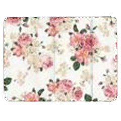 Pink And White Flowers  Samsung Galaxy Tab 7  P1000 Flip Case by MaryIllustrations