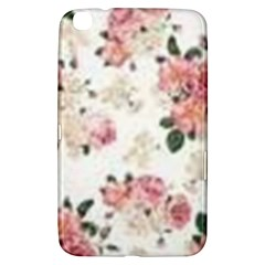 Pink And White Flowers  Samsung Galaxy Tab 3 (8 ) T3100 Hardshell Case  by MaryIllustrations
