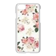 Pink And White Flowers  Apple Iphone 7 Seamless Case (white) by MaryIllustrations