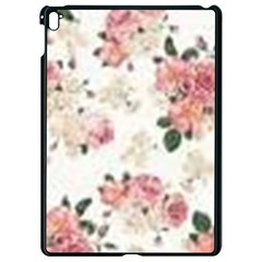 Pink And White Flowers  Apple Ipad Pro 9 7   Black Seamless Case by MaryIllustrations