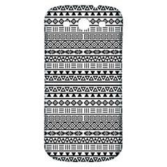 Aztec Influence Pattern Samsung Galaxy S3 S Iii Classic Hardshell Back Case by ValentinaDesign