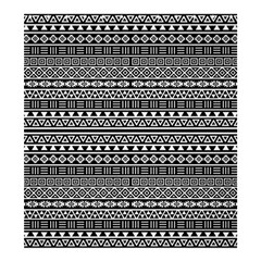 Aztec Influence Pattern Shower Curtain 66  X 72  (large)  by ValentinaDesign