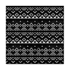 Aztec Influence Pattern Face Towel by ValentinaDesign