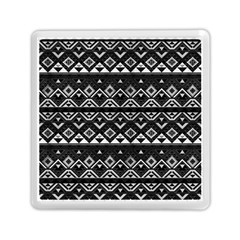 Aztec Influence Pattern Memory Card Reader (square)  by ValentinaDesign