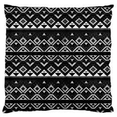 Aztec Influence Pattern Standard Flano Cushion Case (one Side) by ValentinaDesign