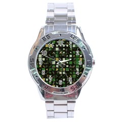 Small Geo Fun C Stainless Steel Analogue Watch by MoreColorsinLife