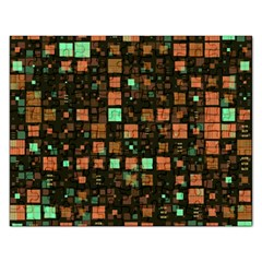 Small Geo Fun A Rectangular Jigsaw Puzzl by MoreColorsinLife