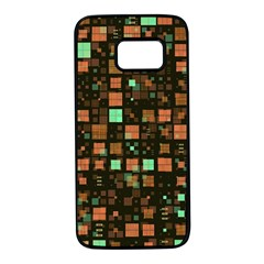 Small Geo Fun A Samsung Galaxy S7 Black Seamless Case by MoreColorsinLife