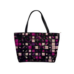 Small Geo Fun D Shoulder Handbags