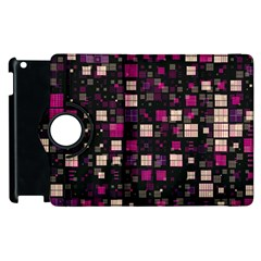 Small Geo Fun D Apple Ipad 3/4 Flip 360 Case by MoreColorsinLife
