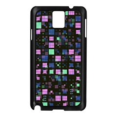 Small Geo Fun B Samsung Galaxy Note 3 N9005 Case (black) by MoreColorsinLife