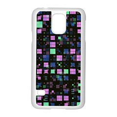 Small Geo Fun B Samsung Galaxy S5 Case (white) by MoreColorsinLife
