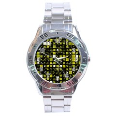 Small Geo Fun F Stainless Steel Analogue Watch by MoreColorsinLife