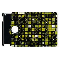 Small Geo Fun F Apple Ipad 3/4 Flip 360 Case by MoreColorsinLife