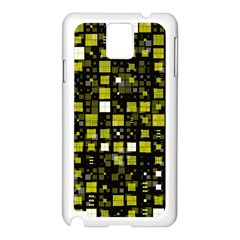 Small Geo Fun F Samsung Galaxy Note 3 N9005 Case (white) by MoreColorsinLife