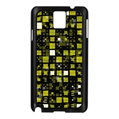 Small Geo Fun F Samsung Galaxy Note 3 N9005 Case (black) by MoreColorsinLife