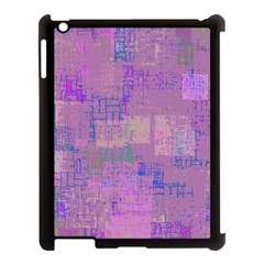 Abstract Art Apple Ipad 3/4 Case (black) by ValentinaDesign
