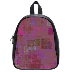 Abstract Art School Bag (small) by ValentinaDesign