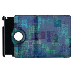 Abstract Art Apple Ipad 2 Flip 360 Case by ValentinaDesign