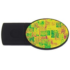 Abstract Art Usb Flash Drive Oval (2 Gb)
