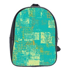 Abstract Art School Bag (large) by ValentinaDesign