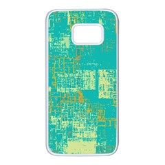 Abstract Art Samsung Galaxy S7 White Seamless Case
