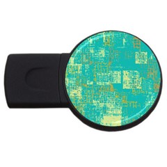Abstract Art Usb Flash Drive Round (4 Gb)