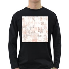 Abstract Art Long Sleeve Dark T Shirts
