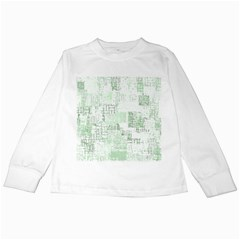 Abstract Art Kids Long Sleeve T Shirts