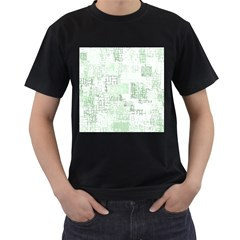 Abstract Art Men s T Shirt (black)