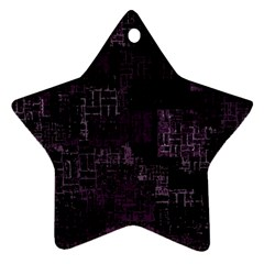 Abstract Art Ornament (star)